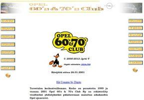 Opel 60 & 70 Club