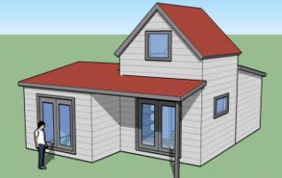 Design talot ja tietoa rakentamisesta