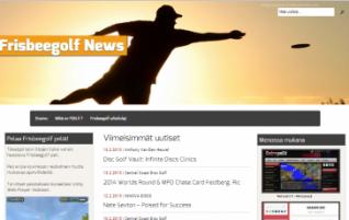 Frisbeegolf News